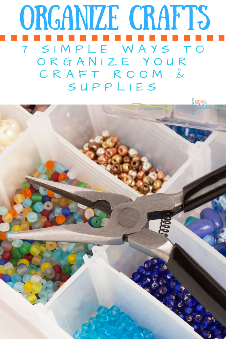 7 Ways to Organize Your Craft Supplies