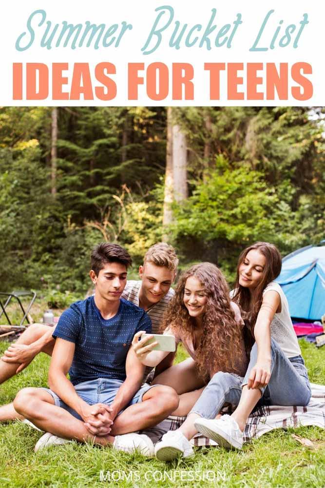 Summer Bucket List Ideas for Teens and Tweens