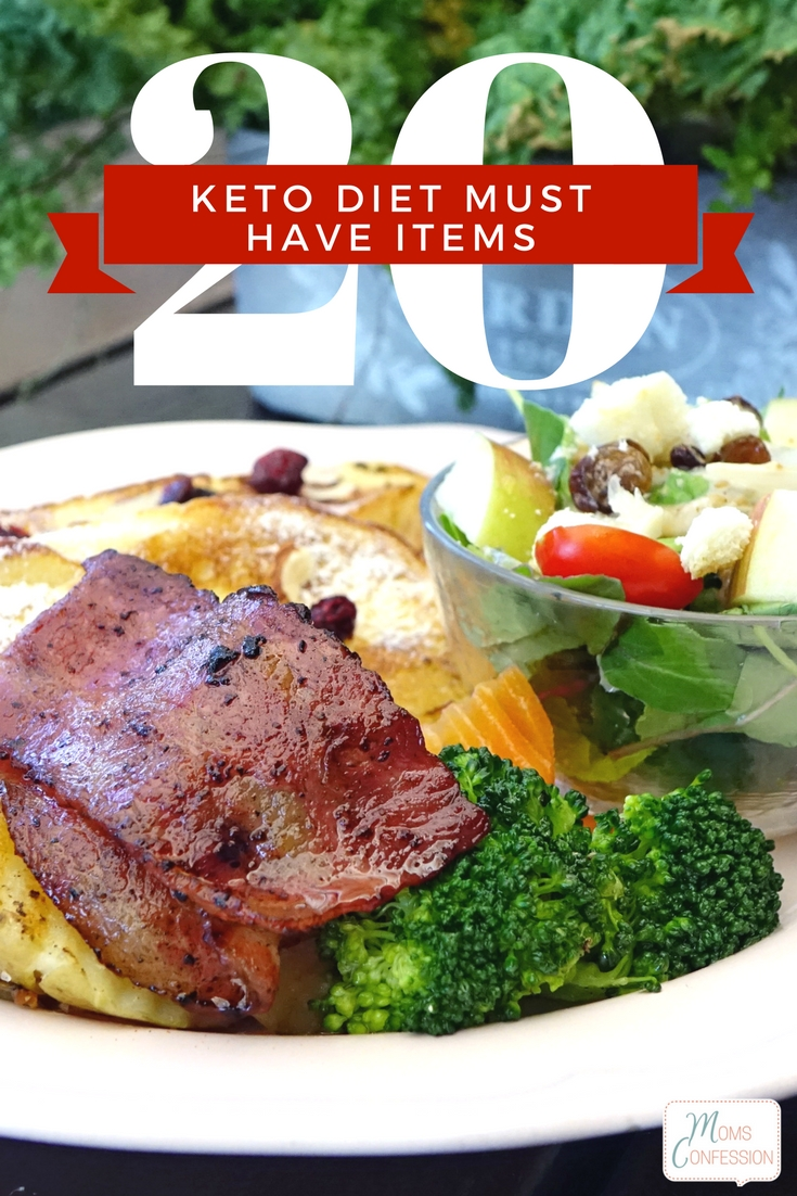 These 20 Keto Diet Must Have Items are a must for making sure you keep on track with your new eating habits and healthy lifestyle!