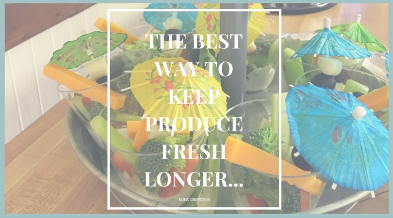 These 10 simple tips will help you keep produce fresh longer so you can save money. Tip #2 has saved me so much money and I know it will help you save too!