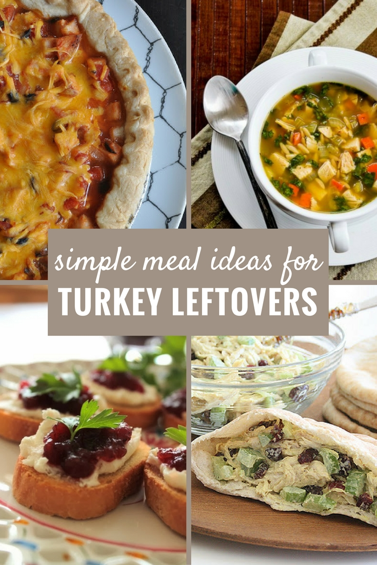 Simple Meal Ideas for Leftover Turkey After Your Holiday Dinner