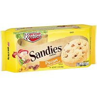Keebler Sandies Cookies, Pecan Shortbread, 11.3 oz Tray