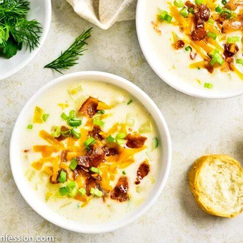 Best Easy Loaded Baked Potato Soup Recipe