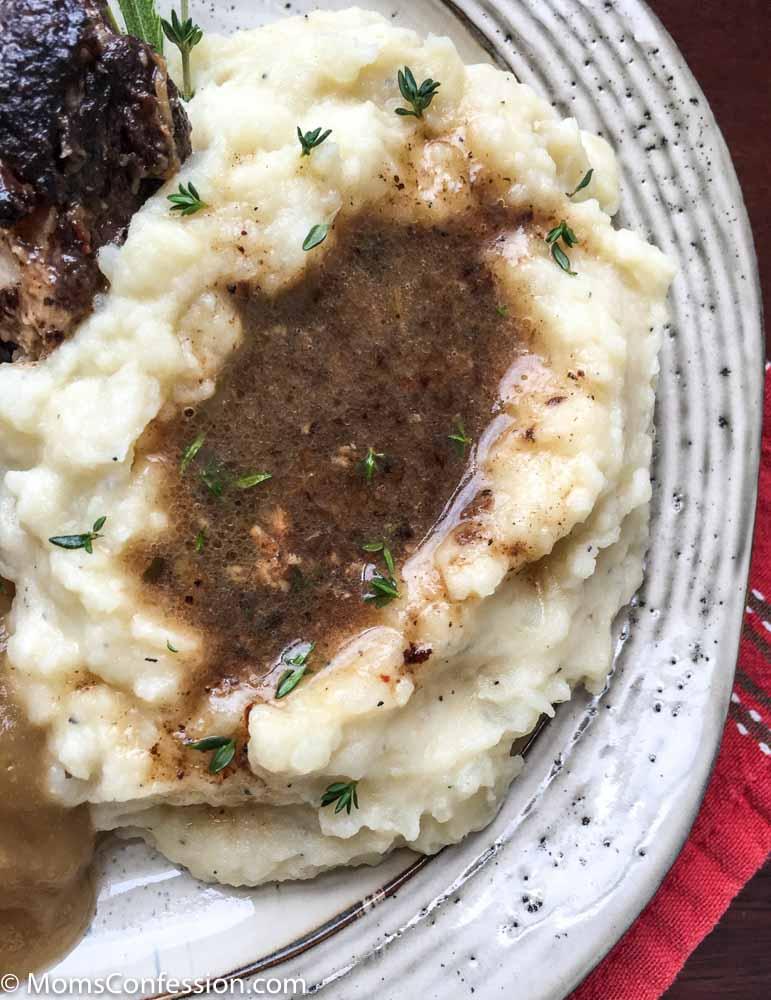 Easy Instant Pot Garlic Mashed Potatoes Recipe