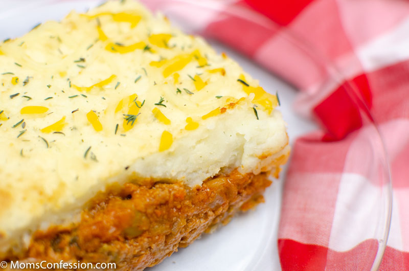 close up of Simple Shepherd's Pie Recipe