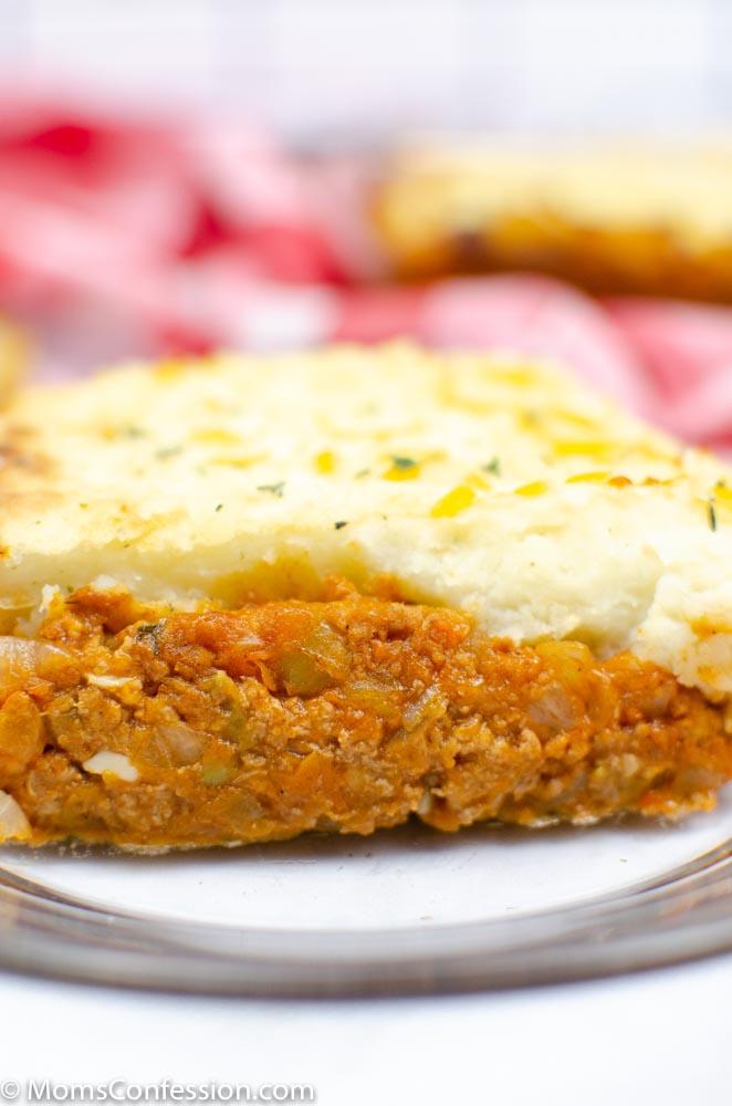 close up portrait image of Simple Shepherd's Pie Recipe