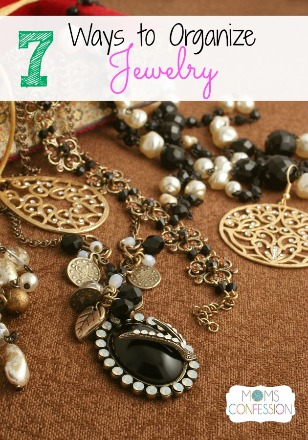 How to Organize Jewelry and Keep it Organized