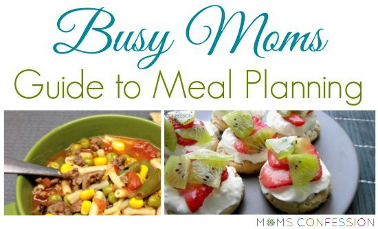 Are you a busy mom that struggles to get dinner on the table each night? You need this busy moms guide to meal planning! It will save your sanity!