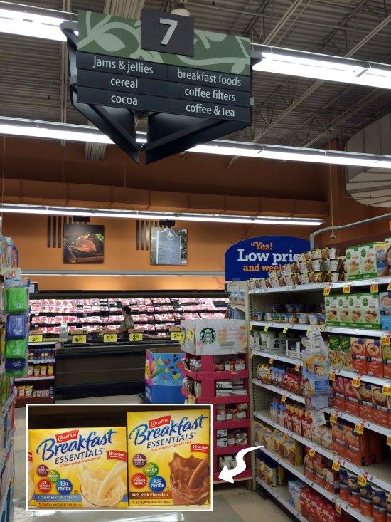 Pick up your Carnation Breakfast Essentials at Kroger