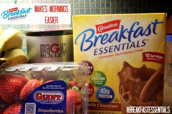 Carnation Breakfast Essentials Makes Mornings Easier