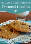 You can't go wrong with chocolate, peanut butter and oatmeal all in one deliciously good cookie!