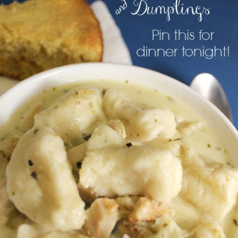 Green Chile Chicken and Dumplings