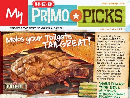 HEB Primo Picks
