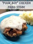 Poor Boy Chicken Fried Steak recipe