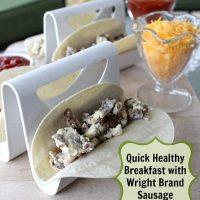 Quick & Healthy Breakfast Tacos