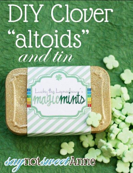 St. Patricks Day Altoids Tin