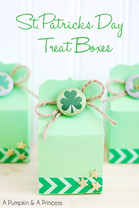 St. Patricks Day Treat Boxes