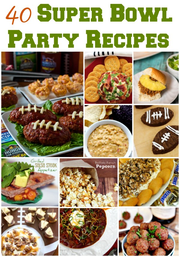 Super Bowl Party Recipe Ideas