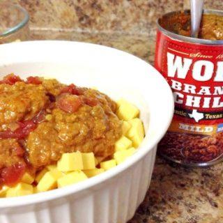 Wolf Brand Chili Cheese Dip
