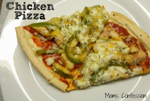 Chicken Pizza With A Twist!