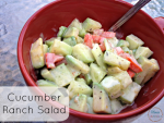 cucumber ranch summer salad